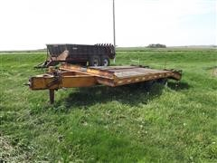 1994 Pintle Hitch T/A Flatbed Trailer