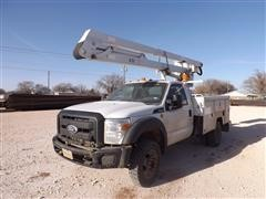 2013 Ford F450 Utility Truck with ETI Bucket
