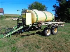 Wetherell 700 Gal T/A Pull Type Sprayer