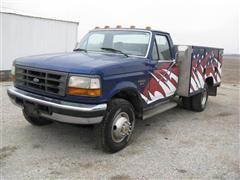 1995 Ford F450 Super Duty 2WD Service Truck