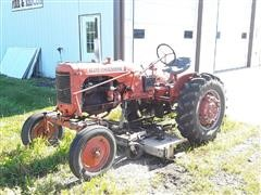 1951 Allis-Chalmers CA 2WD Tractor & Woods Belly Mower