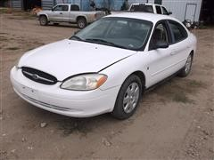2001 Ford Taurus LX 4 Door Sedan