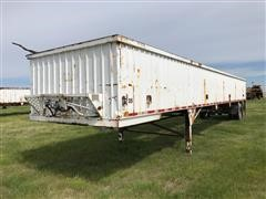 1990 Red River T/A Live Bottom Trailer