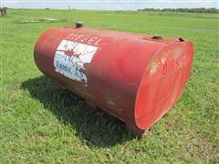 275-Gallon Diesel Fuel Tank On Metal Skid