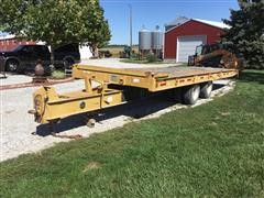 1993 Trail-EZE D15T24 T/A Tilt Bed Trailer