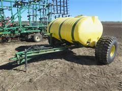 Shop Built 2 Wheel Fertilizer Tow Between Cart