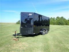 2020 Aero 7x14TA35 T/A Enclosed Trailer