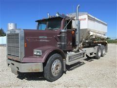 1987 Freightliner FLC120 T/A Fertilizer Tender Truck