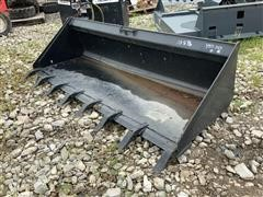 "2019 84"" Skid Steer Bucket"