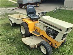 Cub Cadet 129 Lawnmower & Tilt Trailer