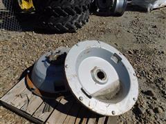 Case International Cast Rear Wheel Centers