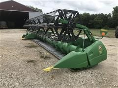 2010 John Deere 625F Flex Head