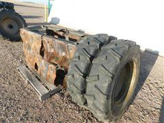 Agri Trac Pivot Tracs, Rims & 11-24.5 Recapped Tires