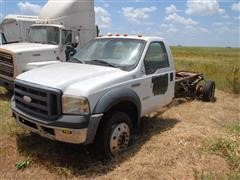 2007 Ford F550 Cab & Chassis For Parts ONLY