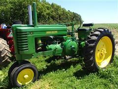 John Deere G Tractor