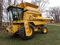 1994 New Holland TR97 Twin Rotor Combine
