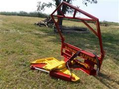 Hayden Kansas Klipper Tree Shear Skid Steer Attachment