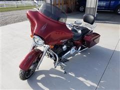 2009 Harley Davidson FLHX Bagger Motorcycle