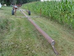 35' Irrigation Pipe Trailer