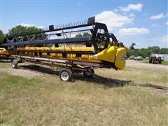 2012 New Holland 740CF-30 Super Flex 30' Grain Header W/Header Cart