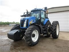 2010 New Holland T8020 MFWD Tractor