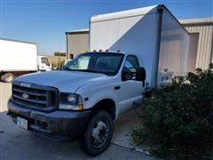 2002 Ford F550 XL Super Duty Box Truck