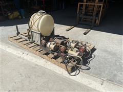 Inject O Meter Pivot Chemigation Pump/Anoculant Tank