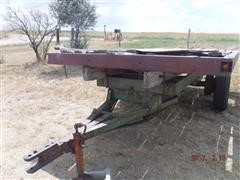 Homemade Hay Trailer On Truck Axle