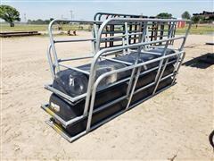 Behlen 10' Galvanized Horse Bunks