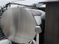 2000 Gallon SS Insulated Milk Storage Tank