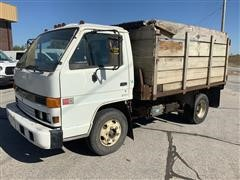 1993 GMC Cab-Over Stake Dump Truck