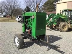 John Deere 4D80 Power Unit W/Trailer