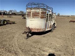 1970 Hlmk T/A Livestock Trailer