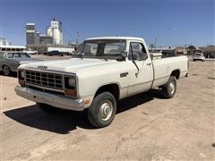 1985 Dodge 150 4x4 Pickup