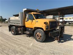 2001 GMC C8500 Dump Truck