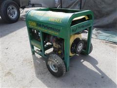 Titan Industries 5500 Diesel Powered Generator