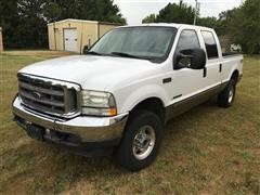 2003 Ford F250 Lariat Super Duty 4X4 Crew Cab Pickup