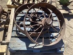 Case Antique Steel Wheels
