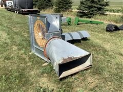 GSI CF-5-1C Grain Bin Fan W/Vents