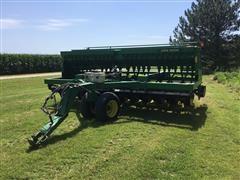 John Deere 750 Grain Drill W/Small Seeder Box