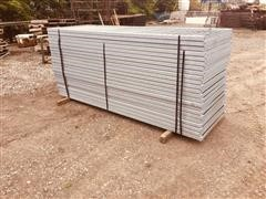 Plymouth Galvanized Vertical Bar Panels