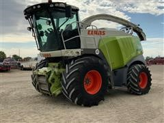 2010 CLAAS Jaguar 980 2WD Self Propelled Forage Chopper
