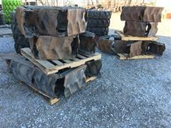 Agri Trac 11R22.5 Recap Pivot Tires W/Tracs & Rims