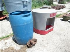 Big Husky Free Standing Waterer & Barrel Waterer