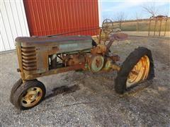 1940 John Deere H 2WD Narrow Front Antique Tractor