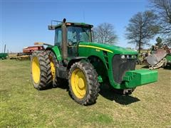2009 John Deere 8330 MFWD Tractor