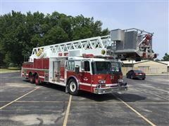 1988 Duplex Truck 4582-88 Grumman Ladder Fire Truck