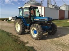 1991 Ford 7740 Powerstar SLE MFWD Tractor