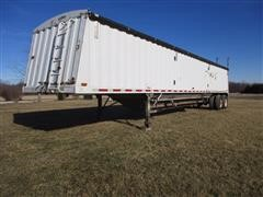 1997 Jet Co T/A Hopper Bottom Grain Trailer