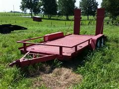 1981 1 Way T/A Utility Trailer